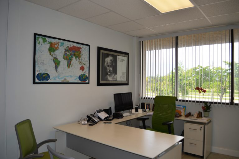 Opening office